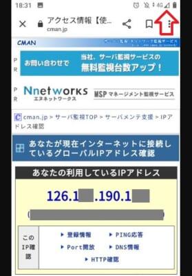 キャリア回線IP